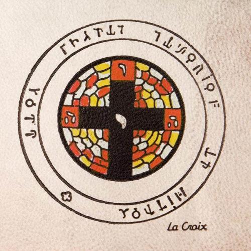 Pentacolo la croce pergamena