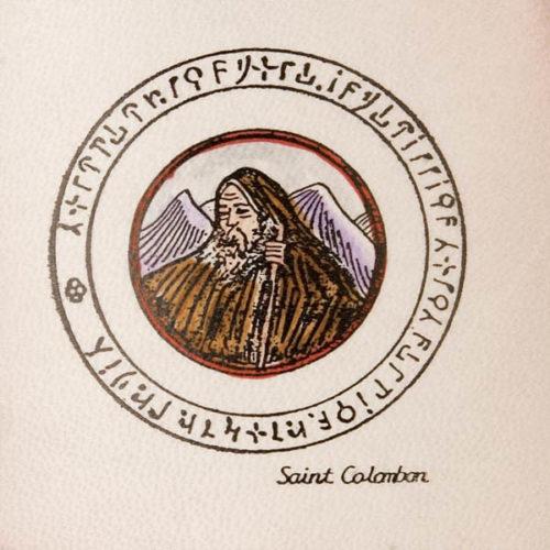 Pentacolo San Colombano pergamena