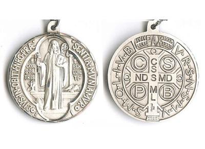 Croce S. Benoit bronzo