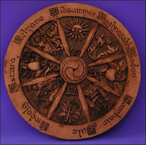 Ruota dell'Anno celtico (piccola)
