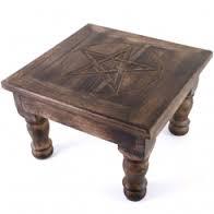 Altare medio in legno