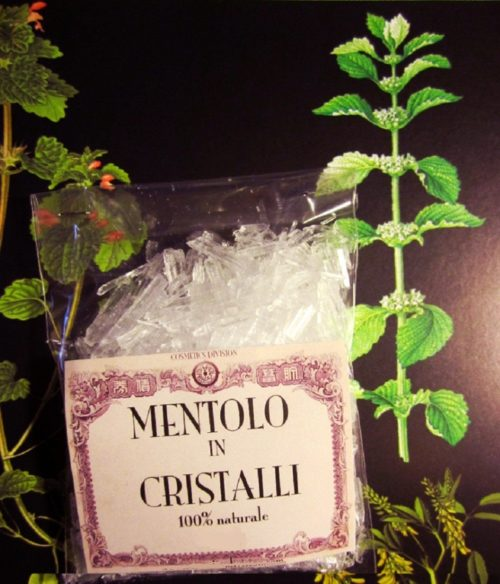 Mentolo (cristalli)