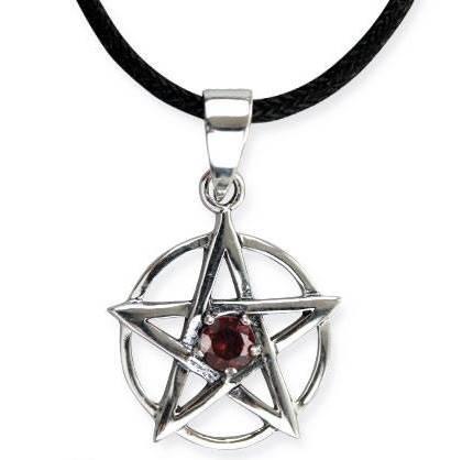 Pentagramma in argento